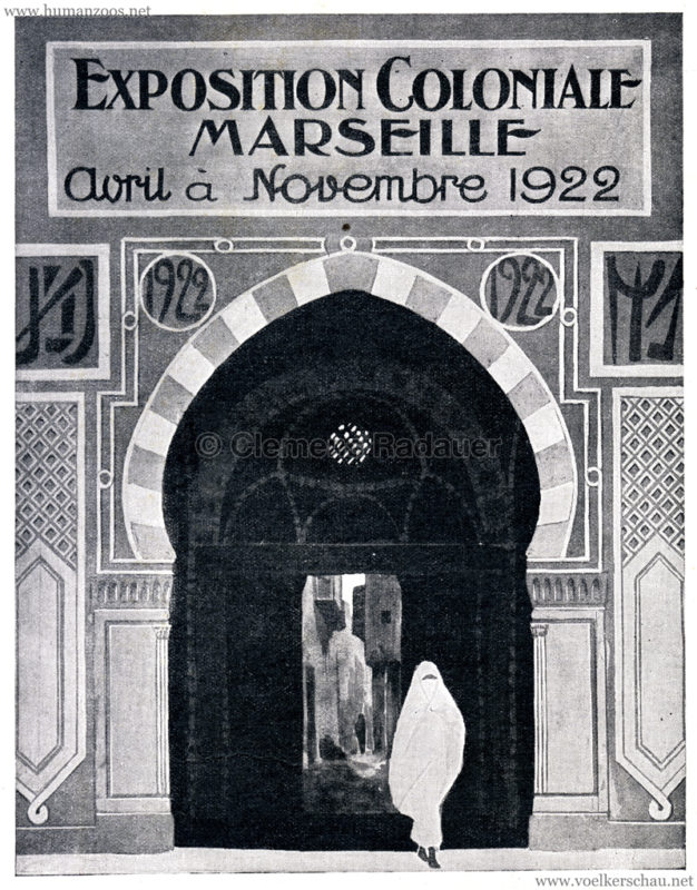 1922 Exposition Coloniale Marseille Reklame 3