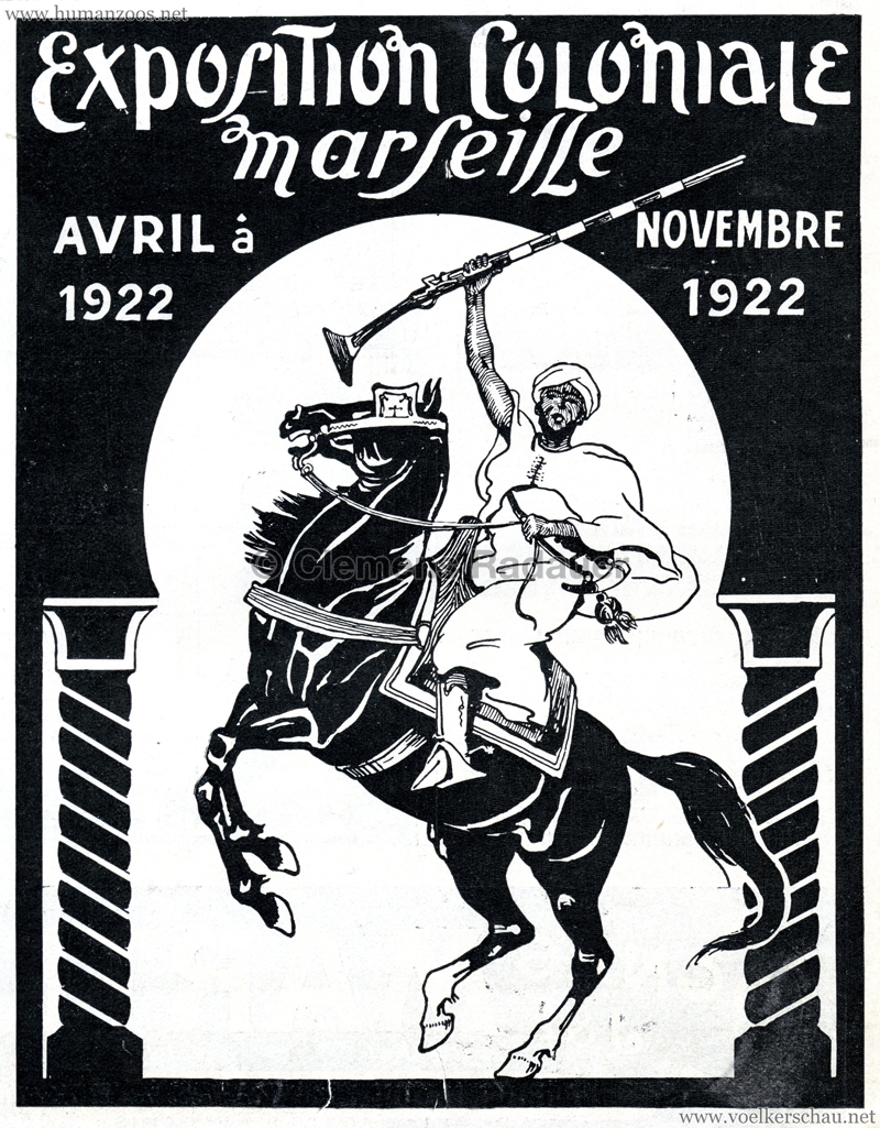 1922 Exposition Coloniale Marseille Reklame 4