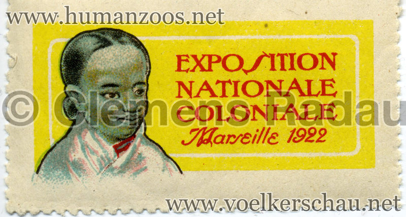 1922 Exposition Nationale Coloniale Marseille 11922 Exposition Nationale Coloniale Marseille 1