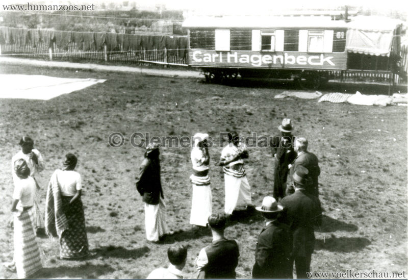 1923 J. Hagenbeck's Singhalesen ?