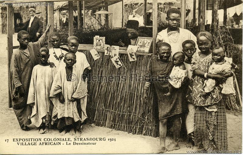 1924 Exposition Coloniale Strasbourg  U2013 Human Zoos