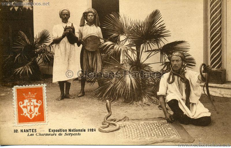 1924 Exposition Nationale Nantes 32. Les Charmeurs de Serpents