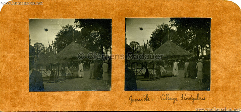 1925 Exposition Internationale Grenoble - Le Village Africain - Balafon
