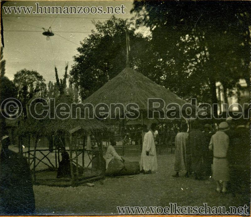 1925 Exposition Internationale Grenoble - Le Village Africain - Balafon detail