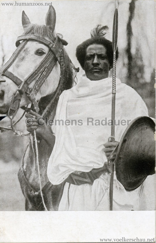 1926 L. Ruhe - John Hagenbeck's Somali-Dorf aus Abessinien 3