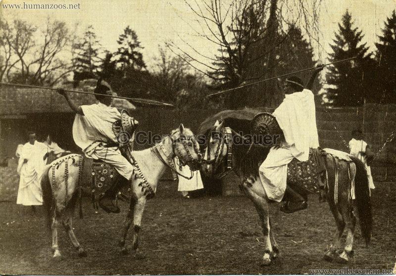 1926 L. Ruhe - John Hagenbeck's Somali-Dorf aus Abessinien 4