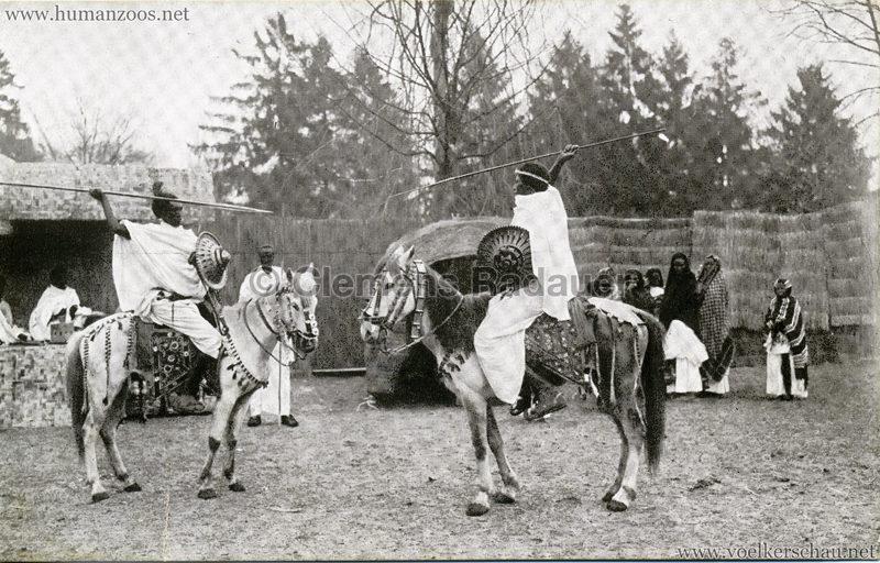 1926 L. Ruhe - John Hagenbeck's Somali-Dorf aus Abessinien 1