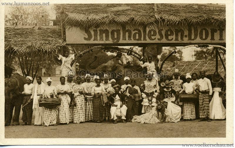1926 (?) Singhalesen Dorf 1