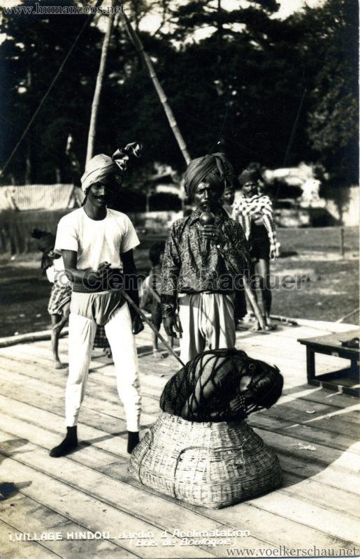 1926 Village Hindou - Jardin d'Acclimatation 1