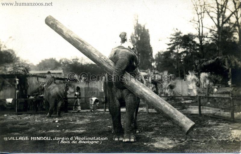 1926 Village Hindou - Jardin d'Acclimatation 12