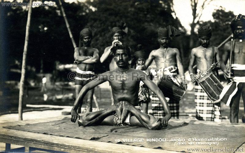 1926 Village Hindou - Jardin d'Acclimatation 19