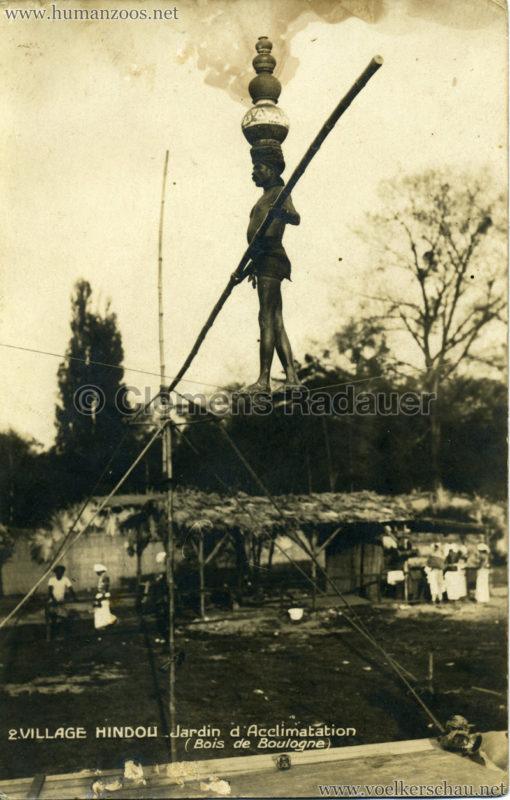 1926 Village Hindou - Jardin d'Acclimatation 2
