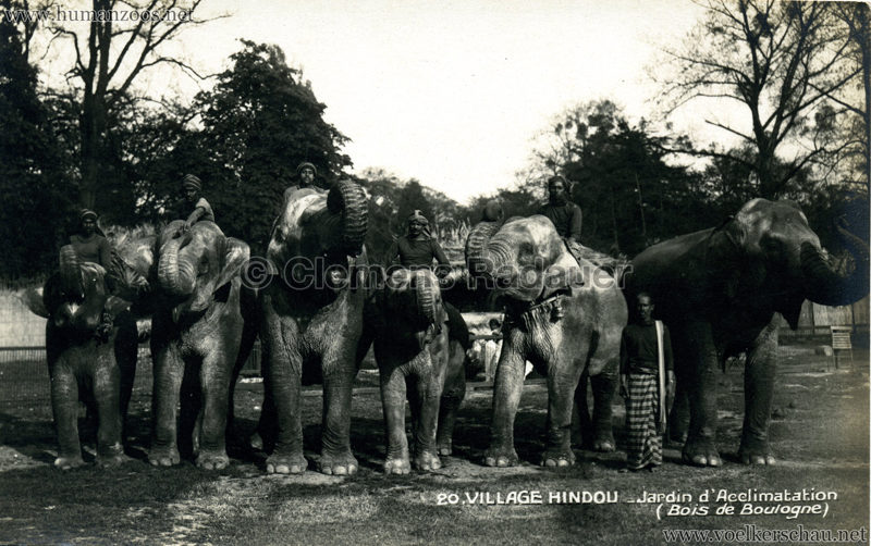 1926 Village Hindou - Jardin d'Acclimatation 20