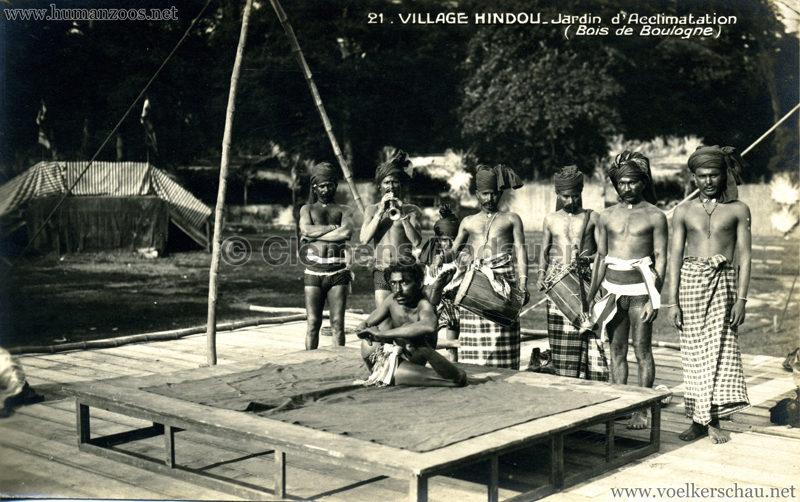 1926 Village Hindou - Jardin d'Acclimatation 21