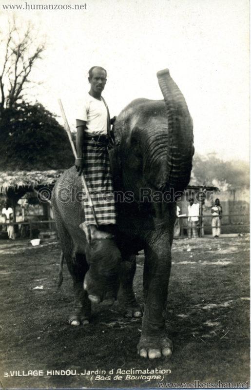 1926 Village Hindou - Jardin d'Acclimatation 3