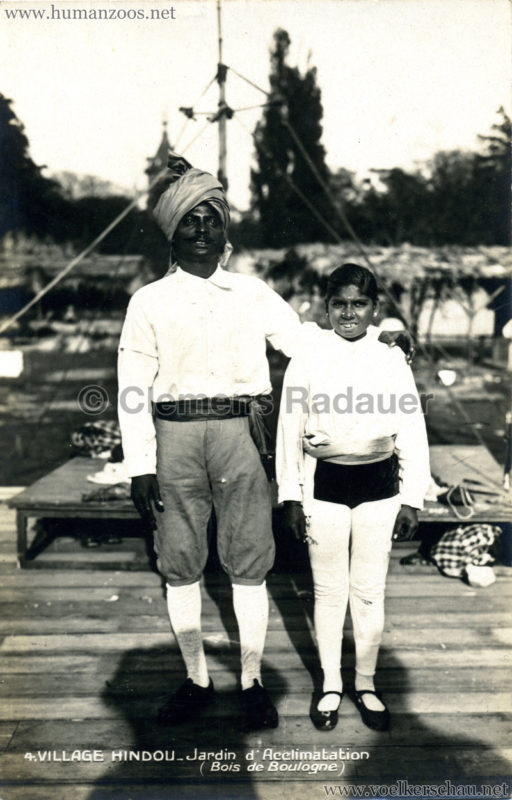 1926 Village Hindou - Jardin d'Acclimatation 4