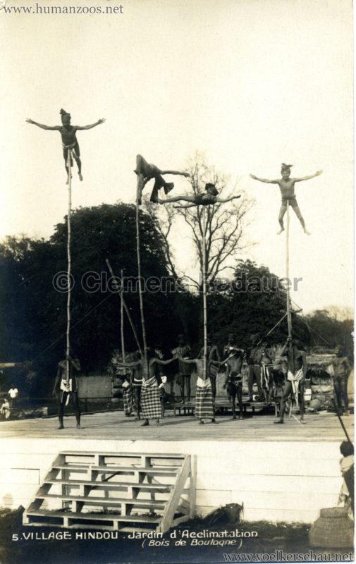 1926 Village Hindou - Jardin d'Acclimatation 5