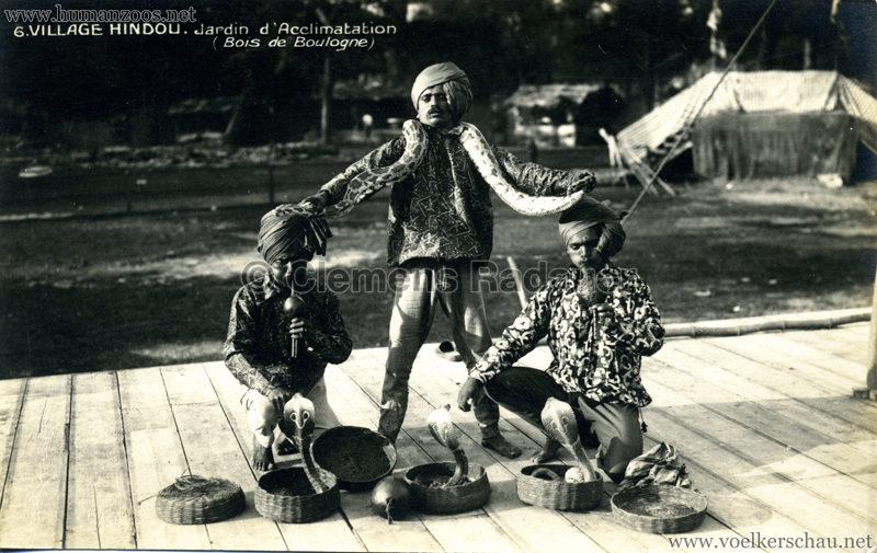1926 Village Hindou - Jardin d'Acclimatation 6
