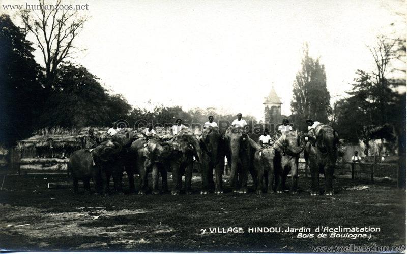 1926 Village Hindou - Jardin d'Acclimatation 7