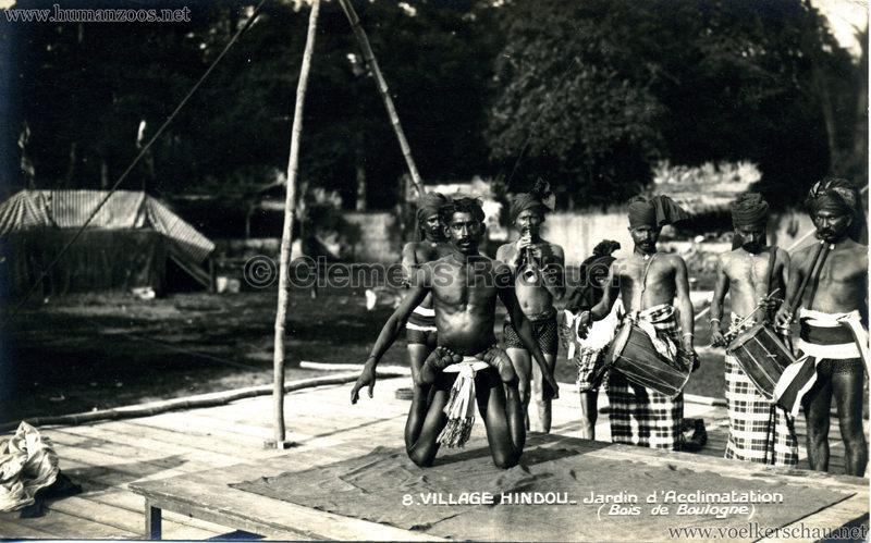 1926 Village Hindou - Jardin d'Acclimatation 8