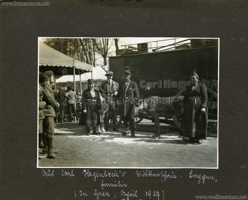 1927 Greiz Hagenbeck Lappländer 1