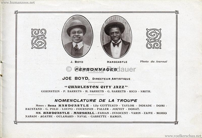1927 Kermesse Nègre (Jardin d'Acclimatation) - S. 10