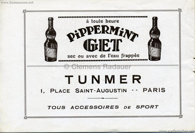 1927 Kermesse Nègre (Jardin d'Acclimatation) - S. 11