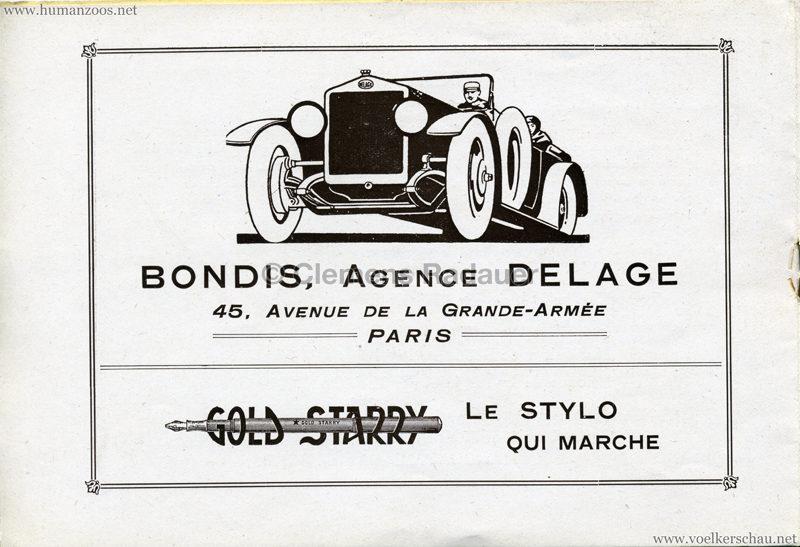 1927 Kermesse Nègre (Jardin d'Acclimatation) - S. 7