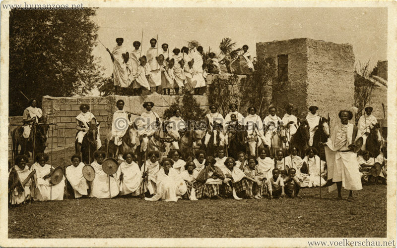 1927 Völkerschau Somali 3