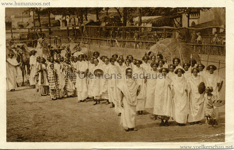 1928 Carl Hagenbecks Somalischau (Berlin) - Umzug der Somali