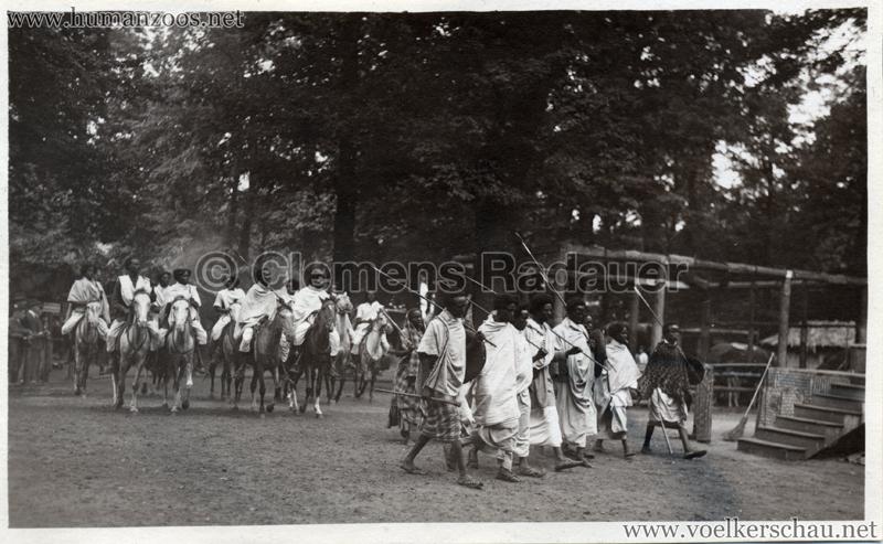 1928 Dresden Zoo - Sommerfest Somali 2
