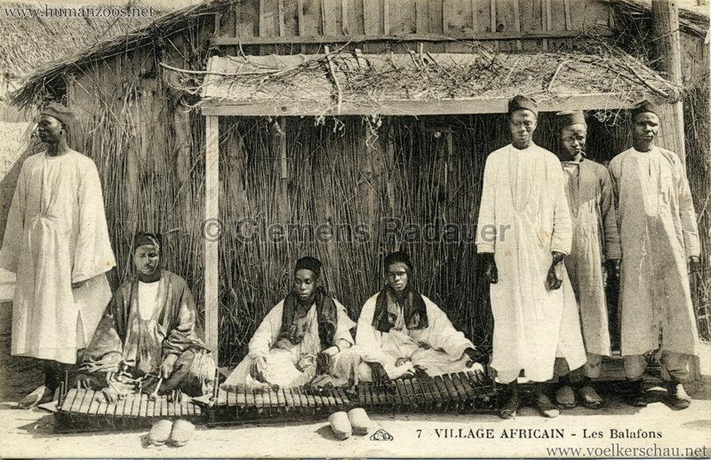 1928 Exposition de Brest - Village Africain - 7. Les Balafon VS