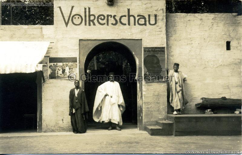 1928 Jahresschau Dresden - Völkerschau