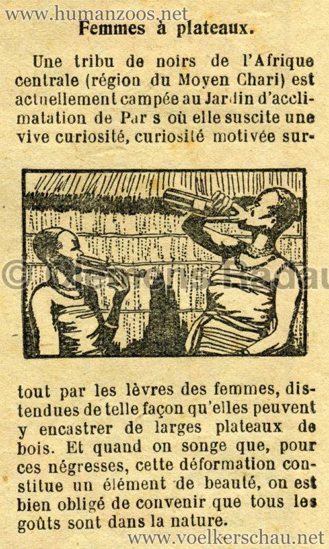 1929.07.30 Le Pelerin - Femmes à plateaux