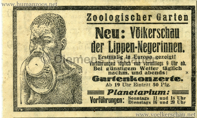 1930 Leipzig Juni Lippennegerinnen