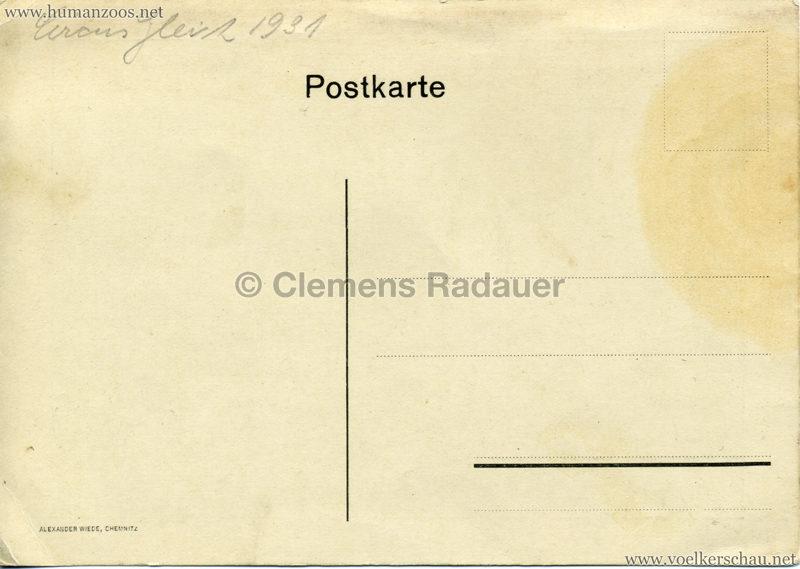 1931 Circus Gleich - Völkerschau 2