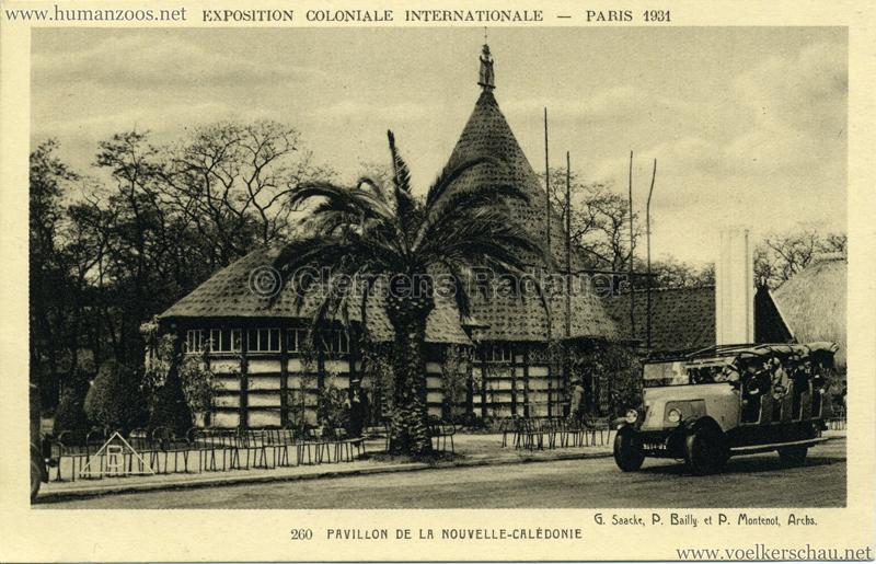 1931 Exposition Coloniale Internationale Paris 260. Pavillon de la Nouvelle-Calédonie