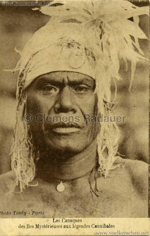1931 Les Canaques des Iles Mystérieuse aux légendes Cannibales 1