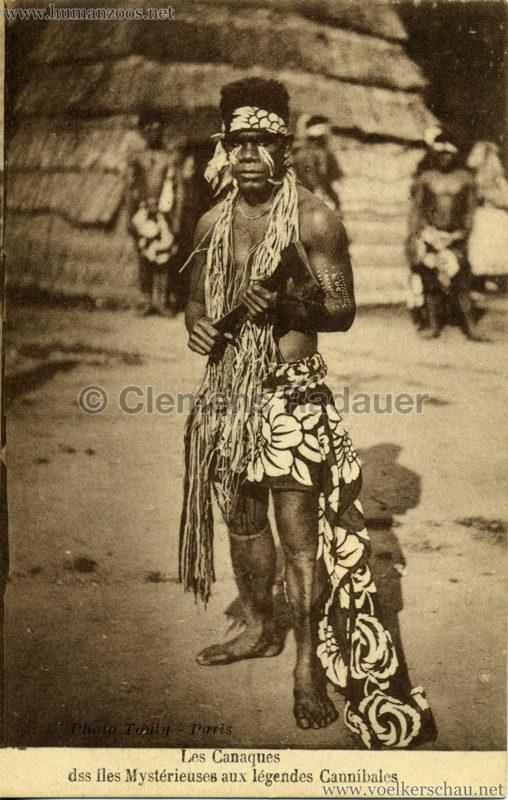 1931 Les Canaques des Iles Mystérieuse aux légendes Cannibales 2