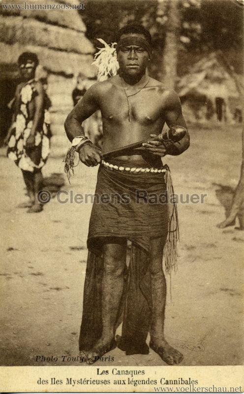 1931 Les Canaques des Iles Mystérieuse aux légendes Cannibales 3