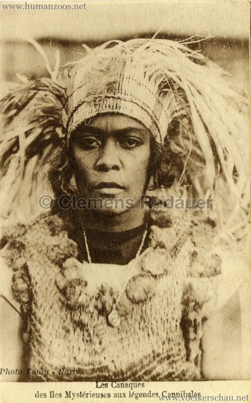 1931 Les Canaques des Iles Mystérieuse aux légendes Cannibales 5