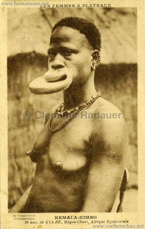1931 Les Femmes a Plateaux - Kemala-Kimbo