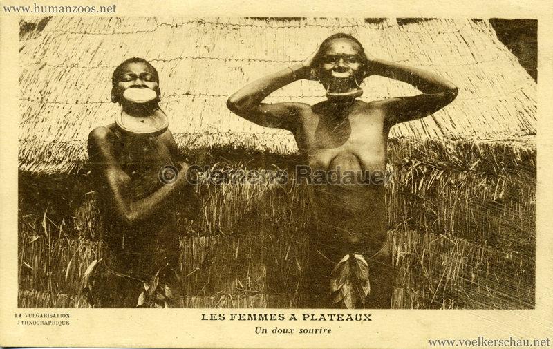 1931 Les Femmes a Plateaux - Un doux sourire
