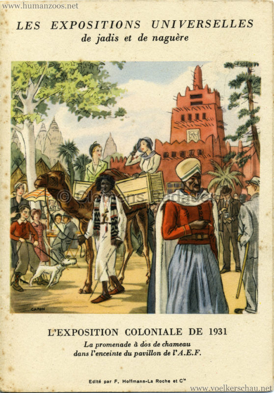 1931 Paris Les Expositions Universelles de jadis et de naguère
