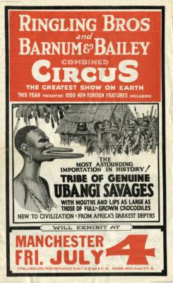 1931 Ubangi Savages - Ringling Bros - Programmheft 2 1