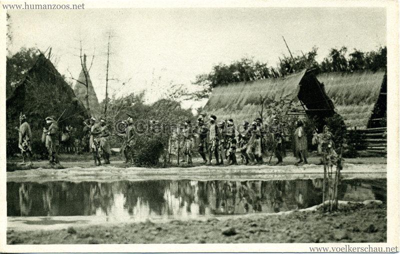 1931 Völkerschau Kannibalen 2
