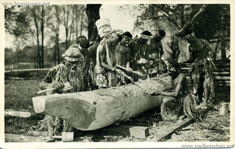 1931 Völkerschau Kannibalen 5