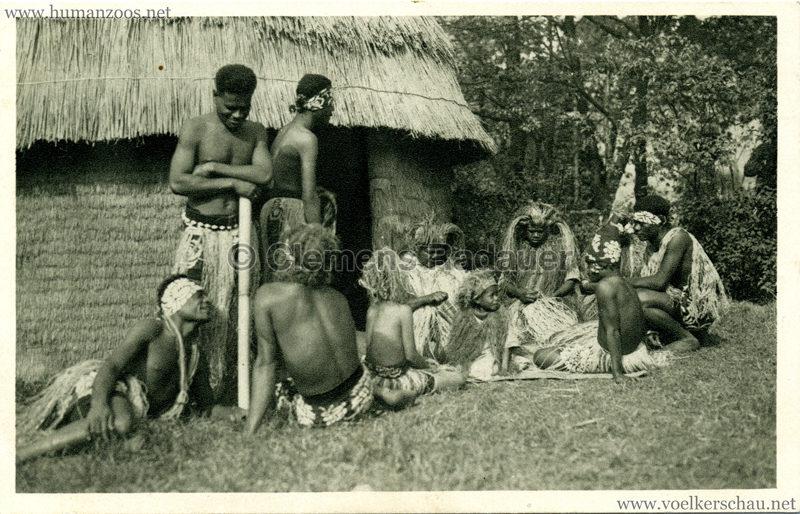 1931 Völkerschau Kannibalen 4