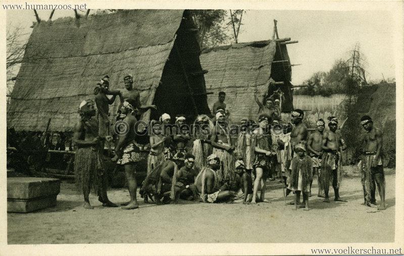 1931 Völkerschau Kannibalen 1