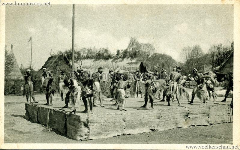 1931 Völkerschau Kannibalen 3